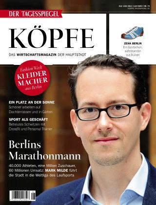 Tagesspiegel Köpfe Juli/Aug 2014