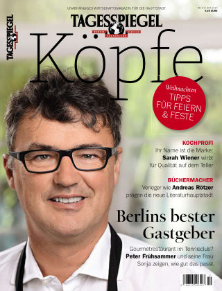 Tagesspiegel Köpfe Okt 2014