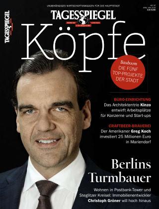 Tagesspiegel Köpfe Mai 2016