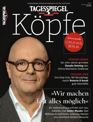 Tagesspiegel Köpfe Dez 2016/Jan 2017