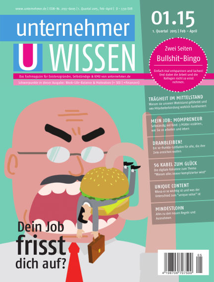 unternehmer.de ePaper February 17, 2015 00:00