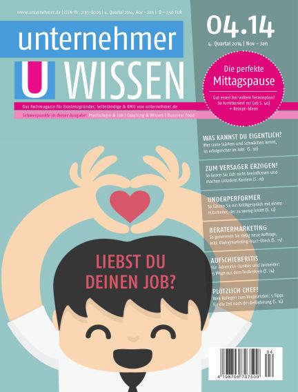 unternehmer.de ePaper November 13, 2014 00:00