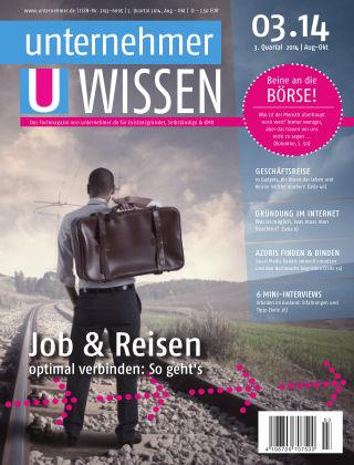 unternehmer.de ePaper NR. 03 2014