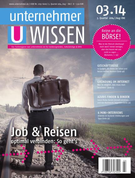 unternehmer.de ePaper August 14, 2014 00:00