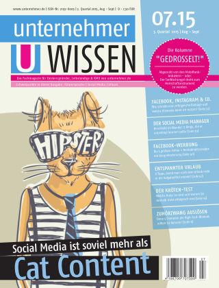 unternehmer.de ePaper NR. 07 2015