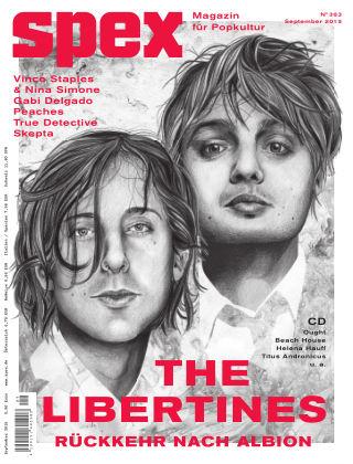 SPEX — Magazin für Popkultur - eingestellt Spex Nr. 363