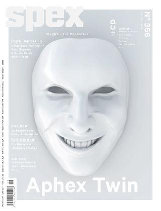 SPEX — Magazin für Popkultur - eingestellt Spex Nr. 356