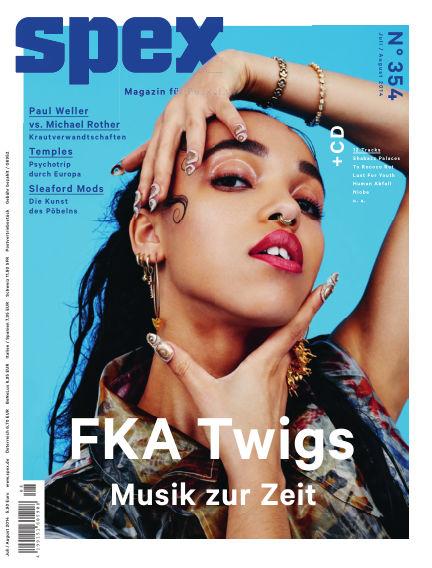SPEX — Magazin für Popkultur (eingestellt) June 26, 2014 00:00