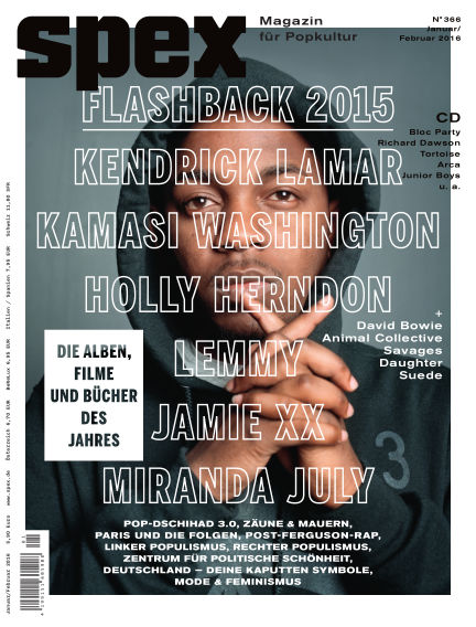 SPEX — Magazin für Popkultur (eingestellt) December 17, 2015 00:00