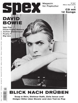 SPEX — Magazin für Popkultur - eingestellt Spex Nr. 367
