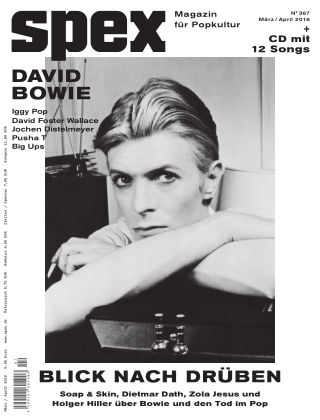 SPEX — Magazin für Popkultur Spex Nr. 367