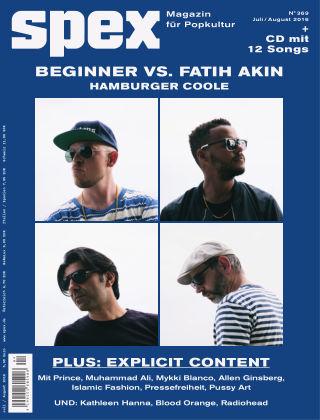SPEX — Magazin für Popkultur - eingestellt Spex Nr. 369
