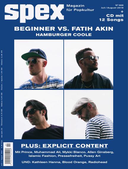 SPEX — Magazin für Popkultur (eingestellt) June 23, 2016 00:00