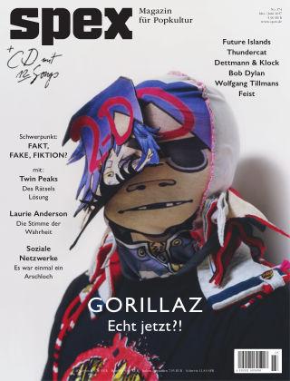 SPEX — Magazin für Popkultur - eingestellt SPEX No. 374
