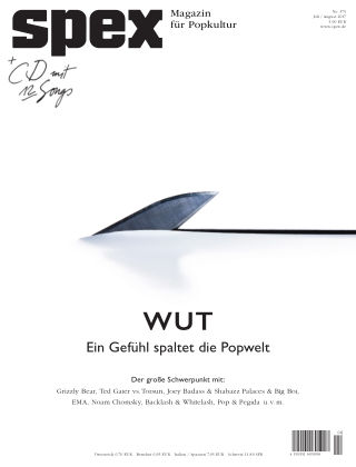 SPEX — Magazin für Popkultur SPEX No. 375