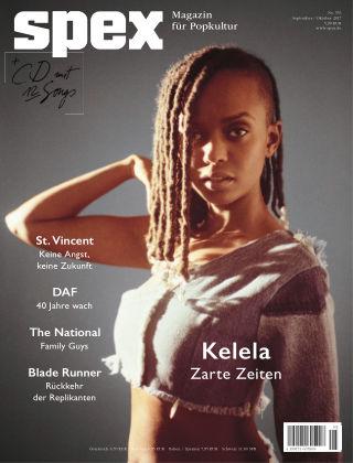 SPEX — Magazin für Popkultur - eingestellt Spex No. 376