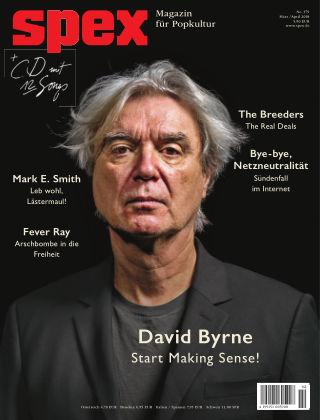SPEX — Magazin für Popkultur - eingestellt SPEX No. 379