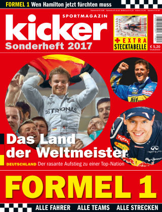 kicker Sonderhefte Formel-1