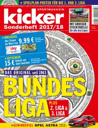 kicker Sonderhefte Bundesliga 2017/18