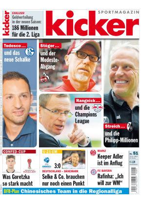 kicker Donnerstag Nr. 051 2017