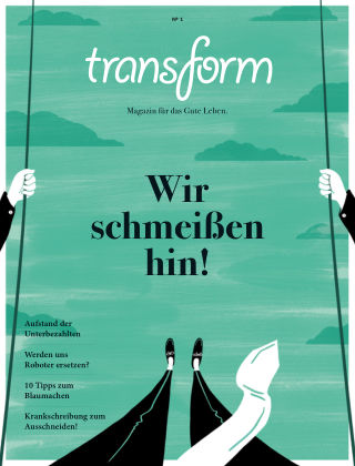 transform Magazin 1 - Arbeit