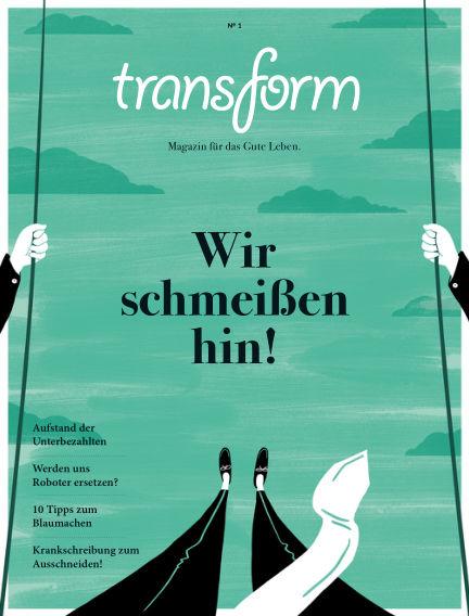 transform Magazin August 06, 2015 00:00