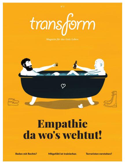 transform Magazin May 13, 2016 00:00