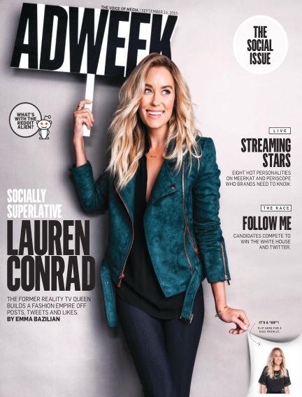 Adweek September 13, 2015 00:00