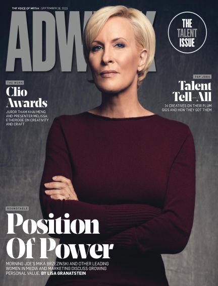 Adweek September 27, 2015 00:00