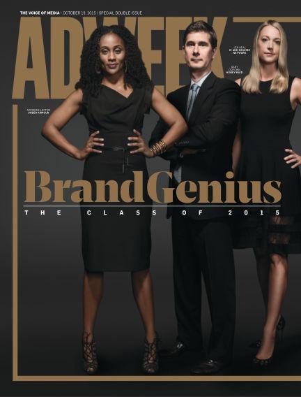 Adweek October 18, 2015 00:00