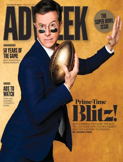 Adweek January 31, 2016 00:00