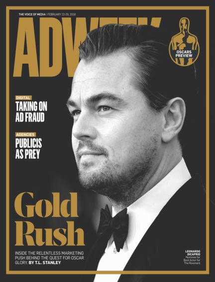 Adweek February 21, 2016 00:00