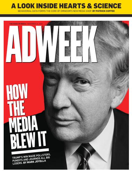 Adweek November 13, 2016 00:00
