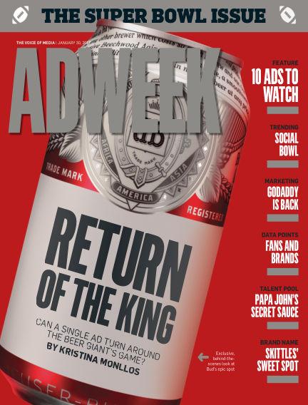 Adweek January 30, 2017 00:00