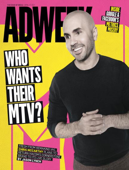 Adweek April 17, 2017 00:00