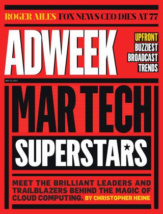 Adweek May 22 2017