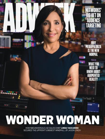Adweek August 21, 2017 00:00