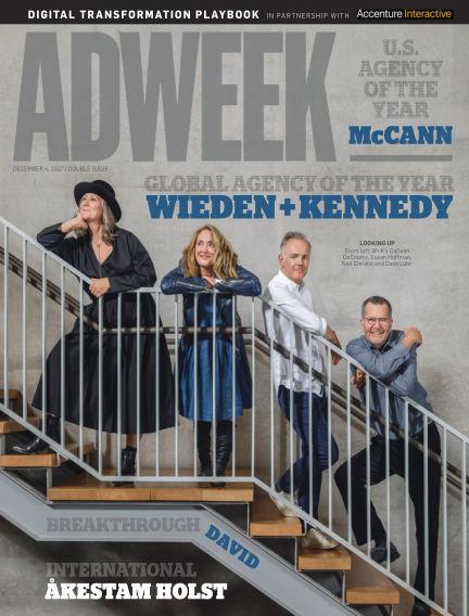 Adweek December 04, 2017 00:00