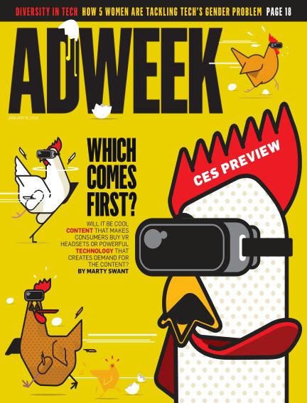 Adweek January 08, 2018 00:00