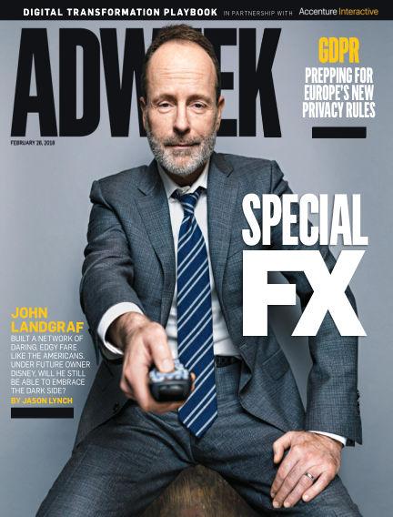 Adweek February 26, 2018 00:00