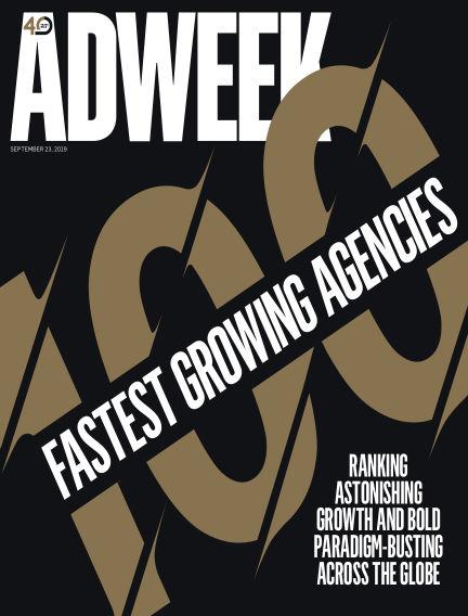 Adweek September 23, 2019 00:00