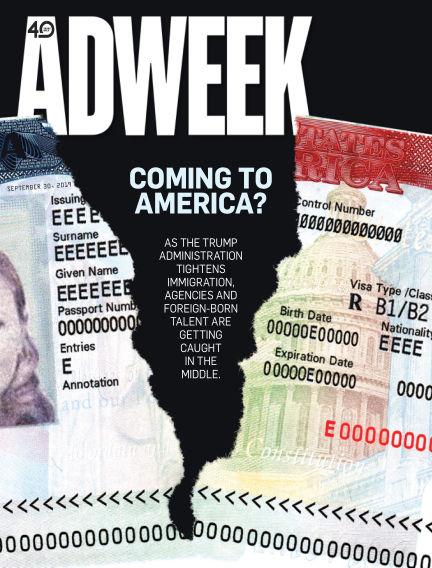 Adweek September 30, 2019 00:00