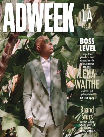 Adweek October 14, 2019 00:00