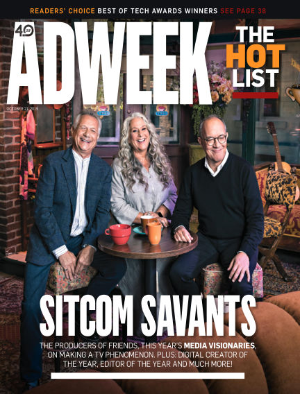 Adweek October 21, 2019 00:00