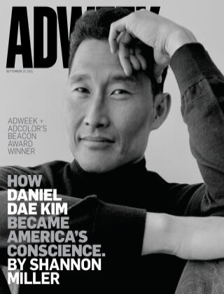 Adweek 27th Sept 2021