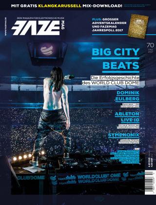 FAZE Magazin Dezember 2017