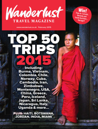 Wanderlust Travel Magazine February 2015