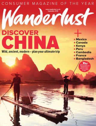 Wanderlust Travel Magazine September 2014
