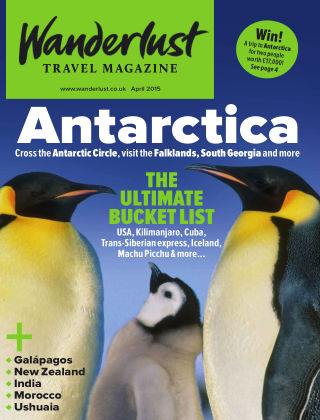Wanderlust Travel Magazine April 2015