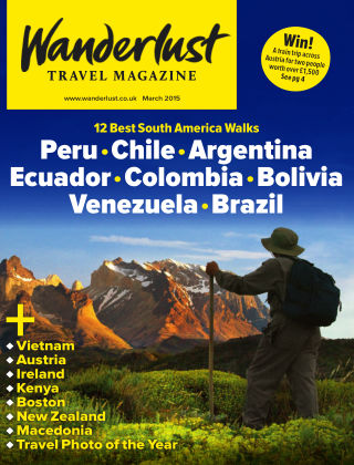 Wanderlust Travel Magazine March 2015